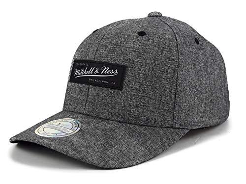 Mitchell & Ness Herren Snapback Cap 110 Dash grau Verstellbar