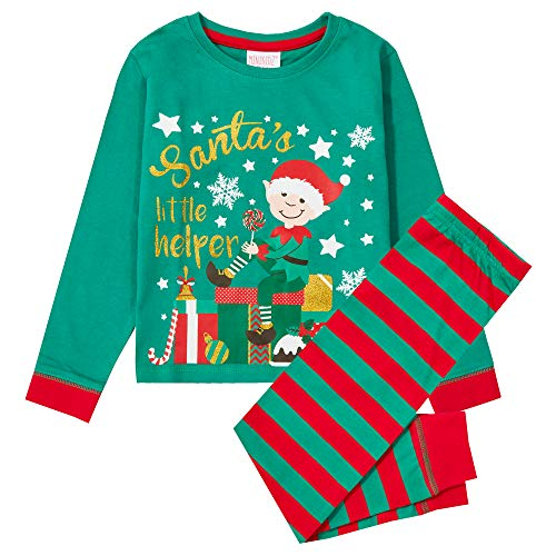 Infant Boys & Girls Christmas Pyjama PJ Set Elf Penguin Snowflake Long Sleeved AW20