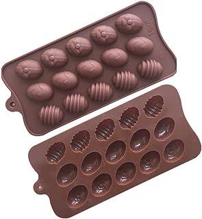 4 St/ück,Ostereier Backform Kuchenform,Ostern Silikonform,Osterei Silikon-Formen,3D Hase Form Silikonform,Ostern Schokoladenformen.
