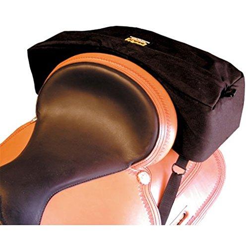Trailmax Bolsa para borrén trasero con forma falcada - Equipaje para silla vaquera de...