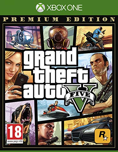 Grand Theft Auto V Premium Edition - [Xbox One][AT-Pegi]