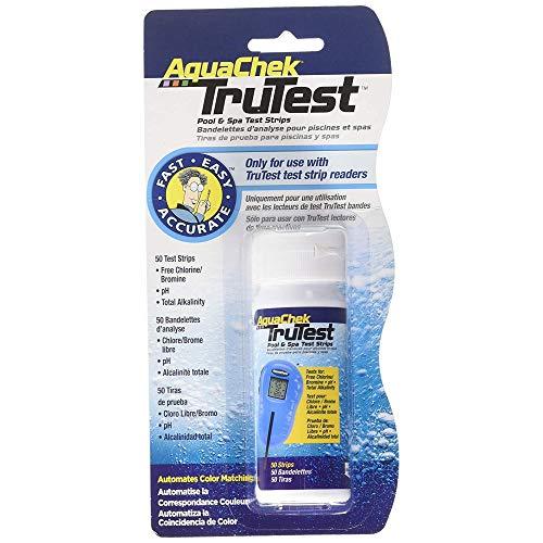 AquaChek - Trutest Blister de 50 bandelettes pour Appareil testeur Digital - SC-AQC-470-0015