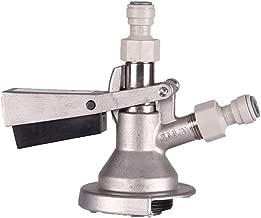 mangobuy Homebrew cerveza barril Tap sistema S acoplador grifo S barril acoplador y v/álvula de seguridad