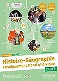 Histoire Géographie + Enseignement moral et civiqueTle Bac pro: Cahier