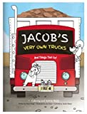 Coloring Book for Kids Toddlers Children Boys, Personalized Custom Name, Trucks, Tractors, Construction, Firetruck, Digger