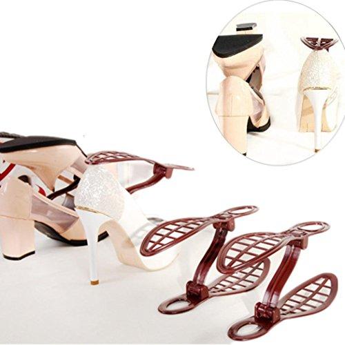 Bescita Ménage Portable Rangement Dressing Chaussures Rack Support Organiseur Space Saver 1 Paire