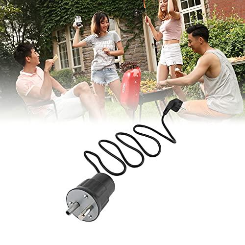 Elektro-Grillmotor für Spiessgarnitur, Grillbraten Rotisserie Grill Motor Rotator im Freien Barbecue Werkzeug-Zubehör 220V BBQ Motor Solide Langlebig Tragbare Energiesparende Braten Rotisserie