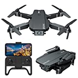 LIZHOUMIL Dron S107 con cámara 4K HD, Dron Plegable con Modo sin...