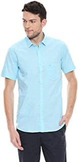 Color Plus Mens Slim Collar Stripe Casual Shirt