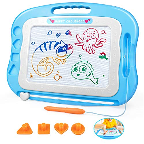 HAIMST Magnetic Drawing Doodle Board Toys for Girls Boys 3 4...