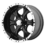 Helo HE791 Maxx Gloss Black Wheel With Machined Face (17x9'/5x135mm, -12mm offset)