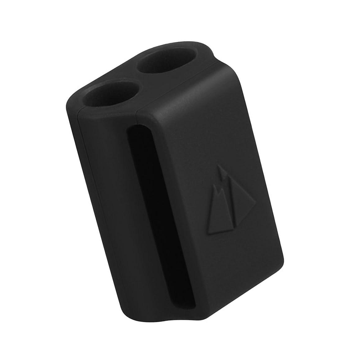 読みやすい反対に印象Baosity Apple AirPodに対応 携帯型 多機能 実用的 保護ケース 落下防止 ストラップ イヤーピース 全3色 - 黒