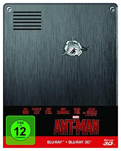 Ant-Man: Blu-ray 3D + 2D / Steelbook