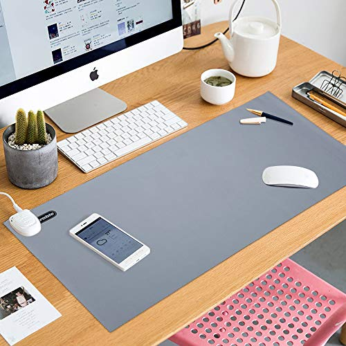 E·Durable 30X60cm Alfombrilla de escritorio Alfombrilla para Ratón Ordenador mesa grande,Protector de almohadilla de escritorio