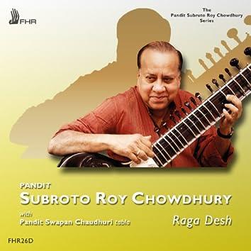 Roy Chowdhury: Two Ragas