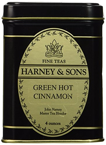 Harney and Sons Green Hot Cinnamon Loose Leaf 4 Oz