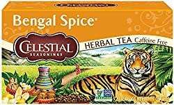 Infused with cinnamon, clove, cardamom and ginger Caffeine free and gluten-free Steep in hot water for 4-6 minutes for the perfect cup The piquant Indian brew traditionally made with black tea Bring fresh, filtered water to a rolling boil