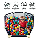 Détachable Playpen Clôture de Sécurité Parc Bébé Pliable Barrière de Sécurité Enfant Pour...