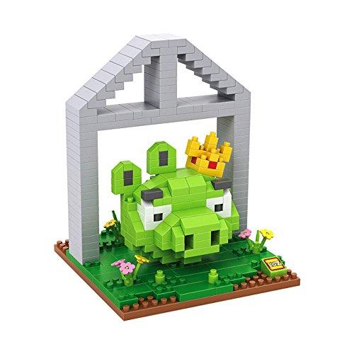 LOZ 9519 - Kit de construcción minimizada. Diamond Block. Pig King. 330 Piezas.