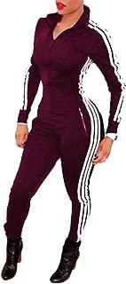 Bodycon4U Women Lycra Spandex Zentai Long Sleeve Unitard Bodysuit Jumpsuit