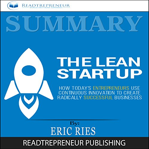 Summary: The Lean Startup audiobook cover art