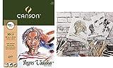 CANSON Zeichenpapierblock ´Ingres Vidalon´, 240 x 320 mm