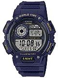 Casio Reloj Digital para Hombre de Cuarzo con Correa en Resina AE-1400WH-2AVEF