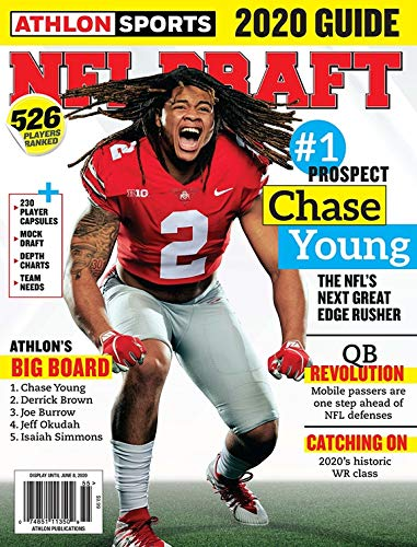 Athlon Sports NFL Draft Guide 2020 - Covers Vary