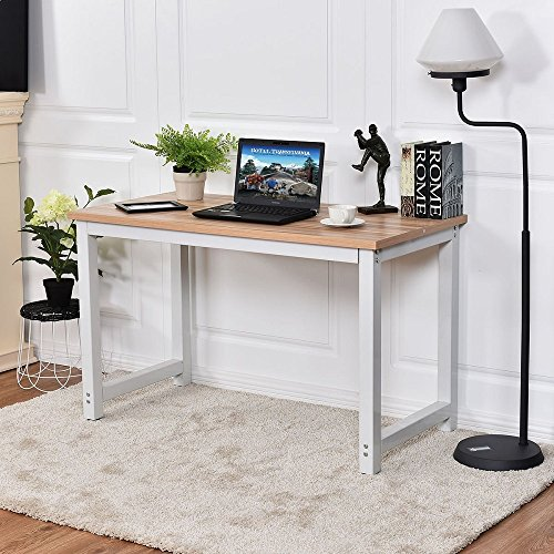 CHEFJOY Computer Desk PC Laptop Table Wood...