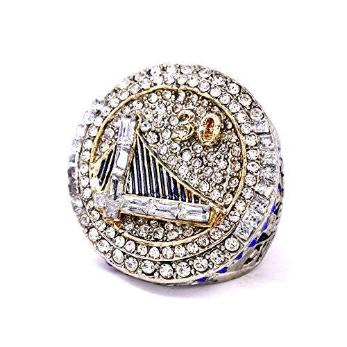 WSTYY 2015 NBA Golden State Warriors Curry Campeonato Anillo Anillo de Hombre Joyería,Without Box,10