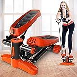 JWCN Übung Fitness Mini Steppers Haushalt Ruhige hydraulische Treppensteiger Home Fitnessgeräte Uptodate