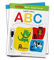 Reusable Wipe And Clean Book - Capital Letters : Write And Practice Capital Letters