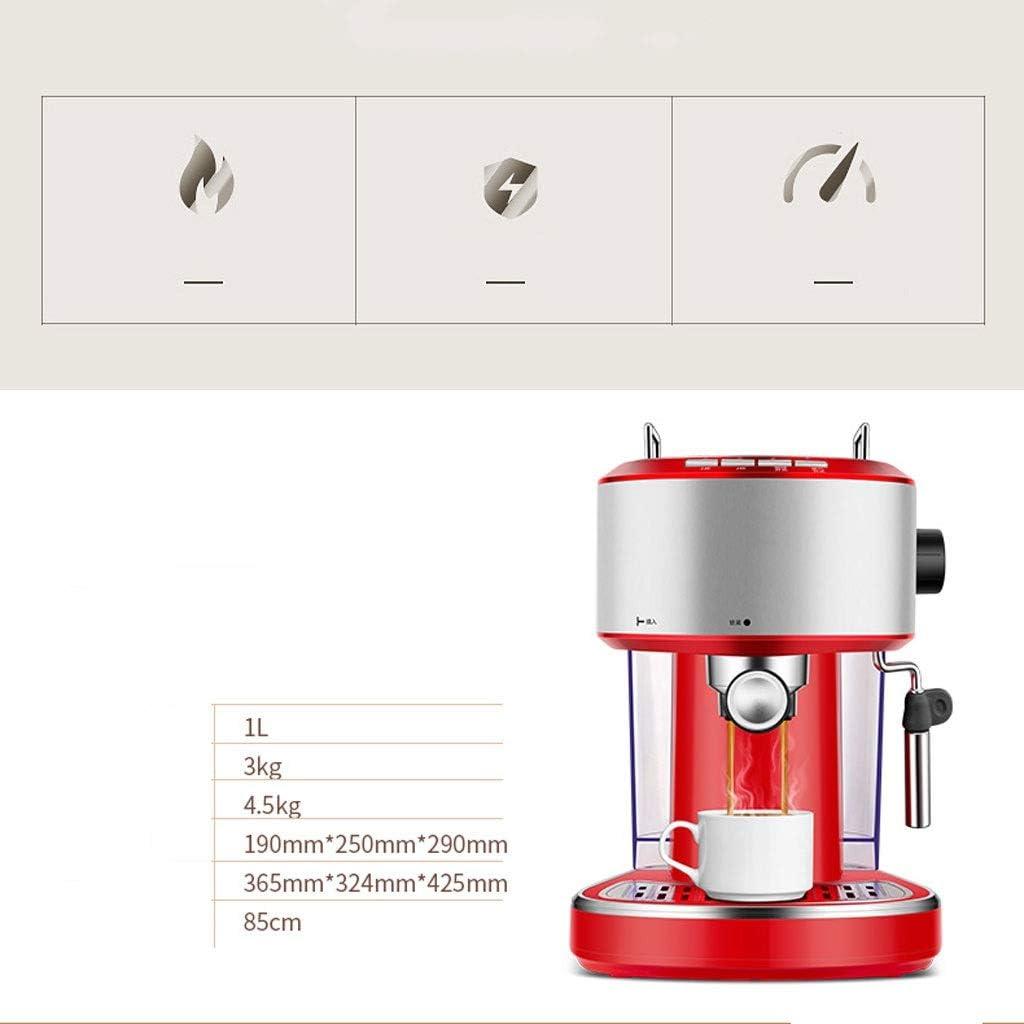 MJYDQ Pression Automatique Bubble Machine à Expresso Cappuccino Machine Grain Grinder Lait en Mousse Mousse Machine à café (Color : B) A