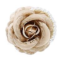 コサージュ 薔薇 入学式 コサージュ フォーマル 2way ばら 花 ヘッドドレス 卒業式 コサージュ結婚式 髪飾り fh7009bge