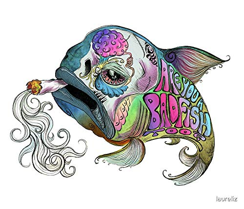Badfish: A Tribute to Sublime Vibrant Sticker