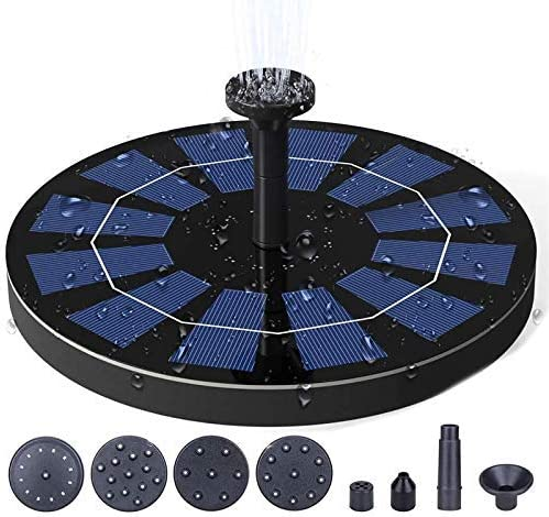 Solar Fountain Pump Free shipping for Bird 1200 Max 86% OFF m 3W Bath with