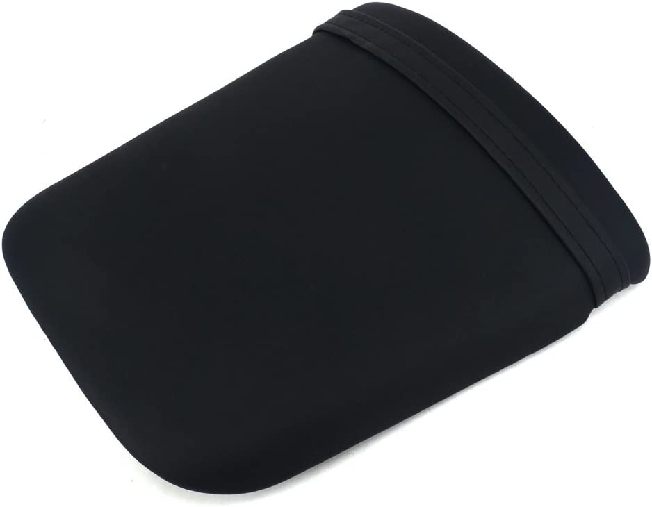 JFG Many popular brands RACING Black Back Motorcycle Seat P Dallas Mall Soft Comfortable Leather