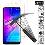 ANEWSIR [3 Pack Protector de Pantalla para Xiaomi Redmi 7,Cristal Templado Xiaomi Redmi 7 [9H Dureza] [Alta Definicion]