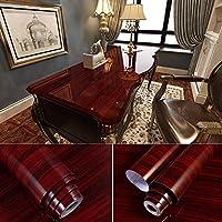 飾壁紙,木目調の粘着紙、Pvc防水壁紙、家具の改装壁紙-22_0.4X10M
