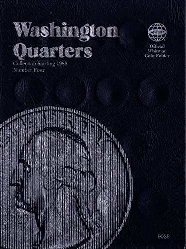 1988-DATE 2000* WASHINGTON QUARTERS WHITMAN No 9038 TRIFOLD COIN; ALBUM, BINDER, BOARD, BOOK, CARD, COLLECTION, FOLDER…