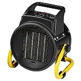 Cerámica calefactor camping eléctrico Calefacción Y Ventilador Ventilador de mesa ventilador de suelo (calefactor, 2000W), calefacción, 3peldaños, asa