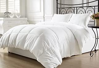Chezmoi Collection, All Season Down Alternative, Comforter Duvet Insert, Twin, White