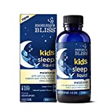 Mommy's Bliss Kids Sleep Liquid with Melatonin and Calming Herbs, Age 3 Years to Adults, Natural Grape Flavor, Sugar Free, 4 Fl Oz (60 Servings)