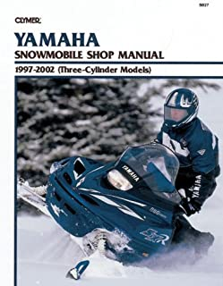 Yamaha Snowmobile Shop Manual 1997-2002 (Three-Cylinder Models) (Clymer Snowmobiles)