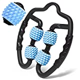 Rullo Massaggio Muscolare in Schiuma Fitness Yoga Rilassa Muscoli Gambe, 3d Massaggiatore ...