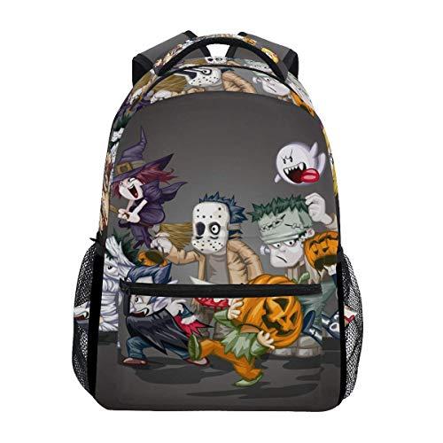 Girl Casual Daypack,Unisex Multifunction Rucksack,Kids/Adult Laptop Backpack,Men/Women Travel Knapsack,College Backbag,Boy School Book Bag,Halloween Skull