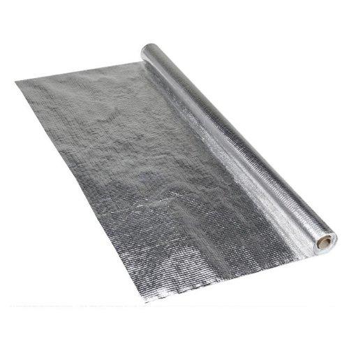 2x Aluminium Dampfsperrfolie, 1,5m x 50m (2x 75m²) - Alu-Dampfsperrbahn Dampfsperre