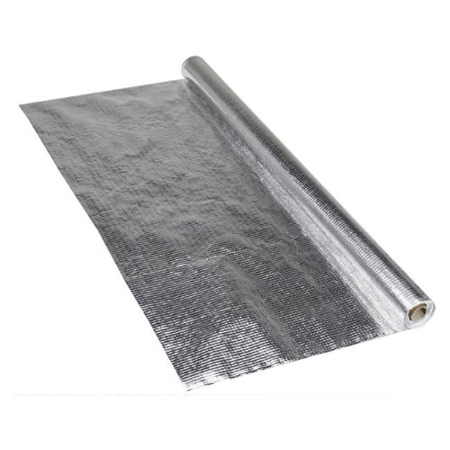 Aluminium Dampfsperrfolie, 1,5m x 50m (75m²) - Alu-Dampfsperrbahn Dampfsperre