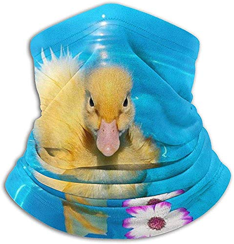 Hey Judey Eau Vague Fleur Canard en Plein Air Chapeaux Polaire Rchauffeur De Cou Confortable Gaiter...
