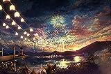 Glow in The Dark 1000-Piece Jigsaw Puzzle Puzzle (Fireworks)